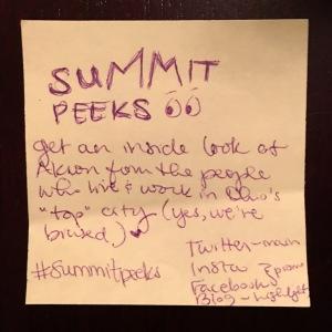 Summit Peeks logo doodle