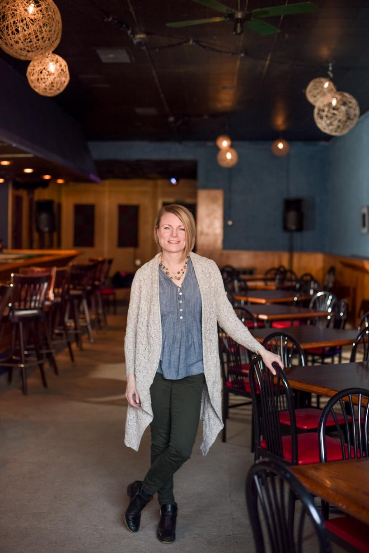 Portrait of Tina Boyes, executive director of Kenmore Neighborhood Alliance