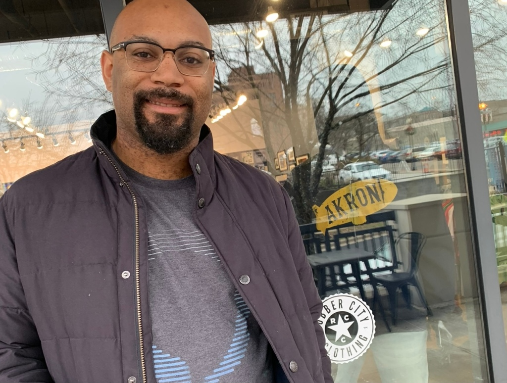 Blair Scott, the Everyday Akron host for the week of Oct. 3, 2021
